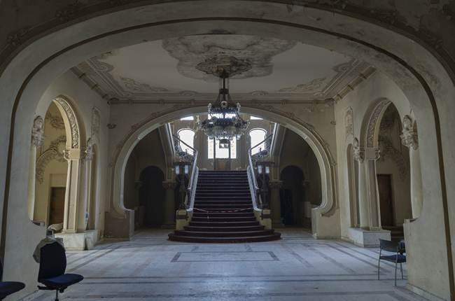 Abandoned Constanta Casino On The Black Sea Coast