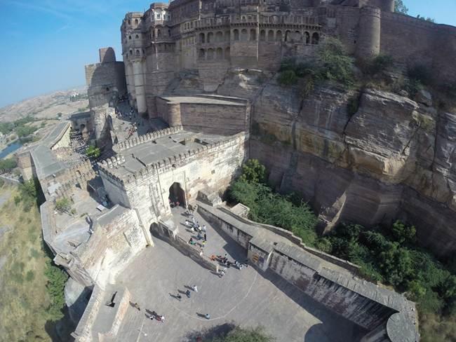 Mehrangarh Fort - Jodhpur, Rajasthan, India